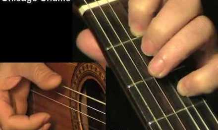 CHICAGO SHUFFLE Fingerstyle Guitar Blues + TAB by GuitarNick