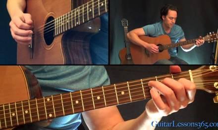 Babe I'm Gonna Leave You Guitar Lesson – Led Zeppelin – Famous Riffs