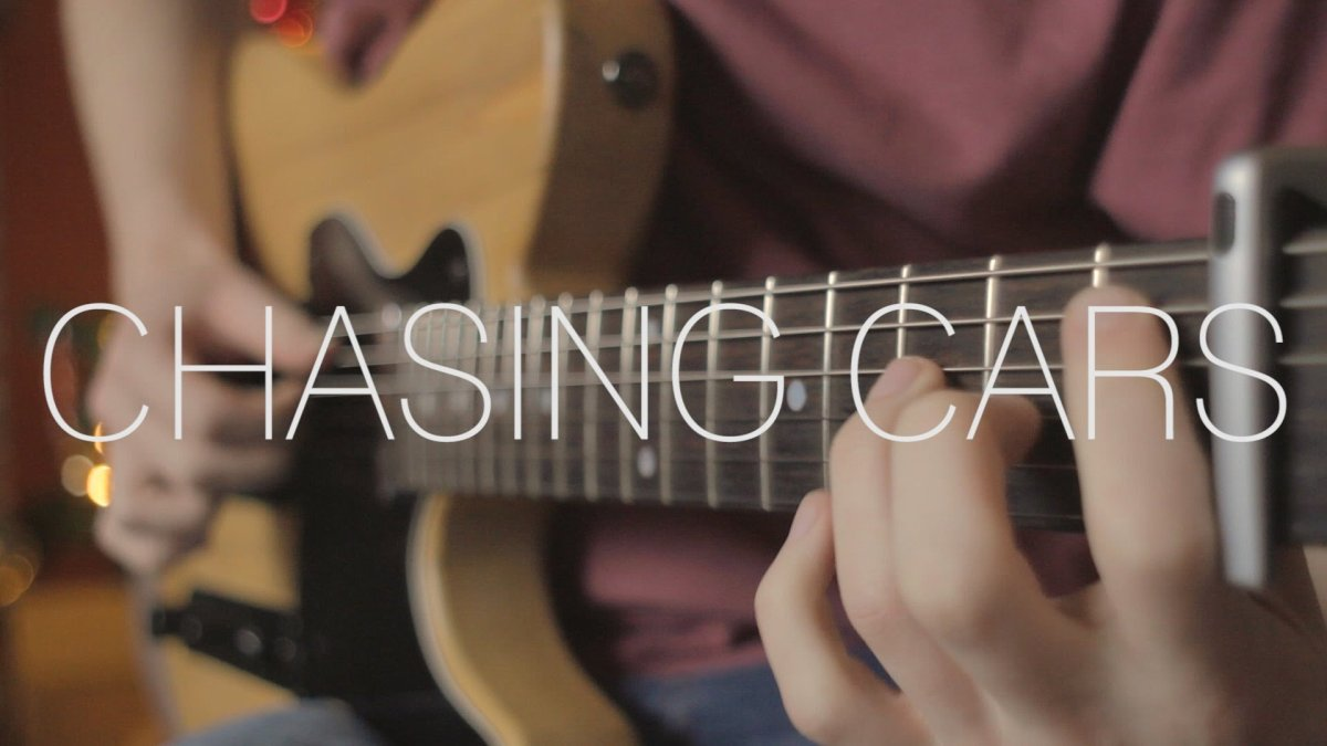 Snow Patrol Chasing Cars Fingerstyle Guitar Cover By James