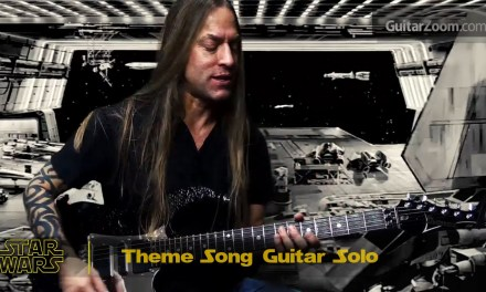 Steve Stine Guitar Lesson – Learn To Play a Star Wars Theme Music Solo