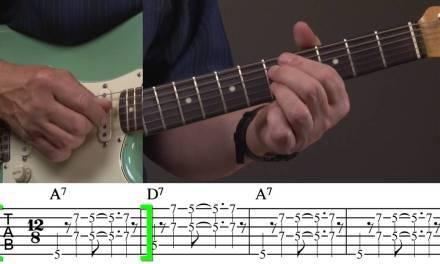 Rhythm Guitar Lesson for Blues