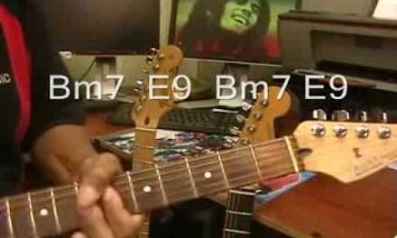 Bob Marley Jammin Electric Guitar Play Along Cover + Chords Jamming Jammin'