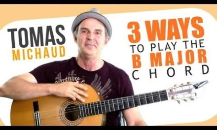 3 Easy(iest) B Chord Guitar Finger Position – Beginning Guitar
