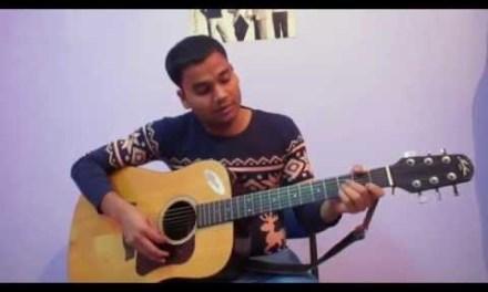 Jeena Jeena Badlapur Easy Guitar Lesson & chords by Sidvidrocks | Atif Aslam |