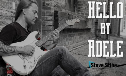 Steve Stine Easy Guitar Lesson – How to Play Hello by Adele