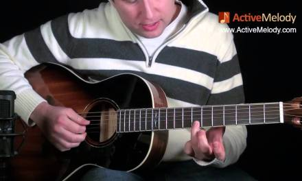 Eric Clapton Acoustic Blues Lead Guitar Lesson — Ragtime: EP015