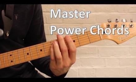 Power Chords – Beginner Guitar Lesson