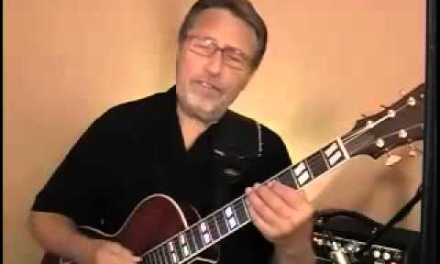 A Minor – Jazz Blues Guitar Solo #1