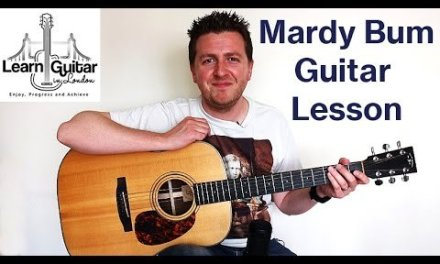 Mardy Bum – Guitar Lesson – Arctic Monkeys – Chords + Rhythm