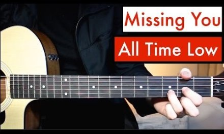 All Time Low – Missing You | Guitar Lesson (Tutorial) Easiest Chords!