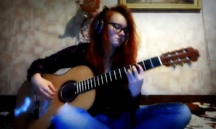 """Scorpions """"Fly to the Rainbow"""" (1974) – classical guitar cover"""