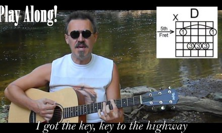 Key to the Highway with Lyrics & Chords – Acoustic Blues Cover – C70