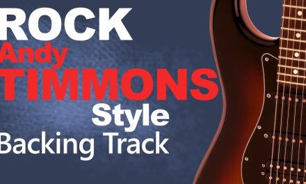 Rock Ballad Andy Timmons Guitar Backing Track #2