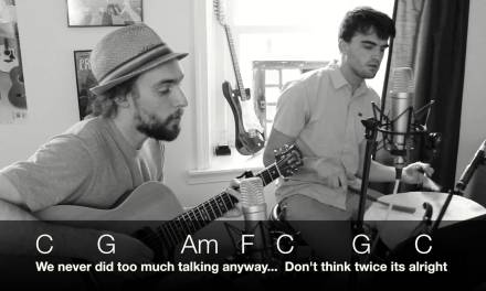 Bob Dylan – Don't Think Twice, It's Alright – Guitar Lesson, Chords and Lyrics PT.1