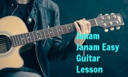 Janam Janam guitar lesson chords tutorial from dilwale
