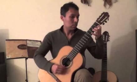 Classical Guitar Technique- Warming up Part 3