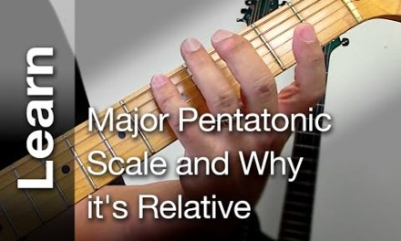 Major Pentatonic scale and Why it's Relative ( Easy and fun guitar lesson )