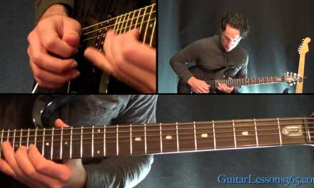 Rock You Like a Hurricane Guitar Lesson – Scorpions – Chords & First Solo