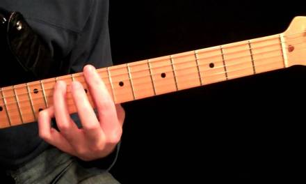 Dominant Seventh Chords Guitar Lesson Using The CAGED Method