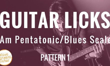 Guitar Licks | Minor Pentatonic | Blues Scale 1.1