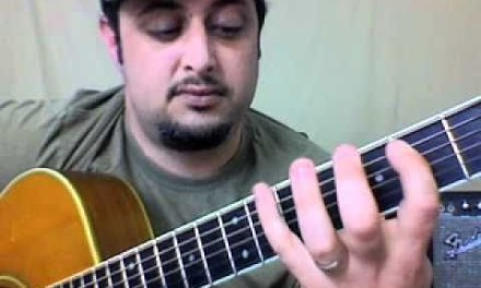 acoustic guitar lesson – how to play bad to the bone – easy beginner songs