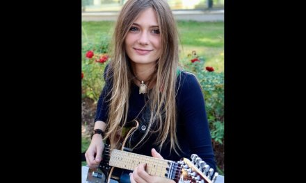 The Future of Rock By Teen Sensation Tina S  French Guitar  Goddess  Get Ready To Be Shocked!