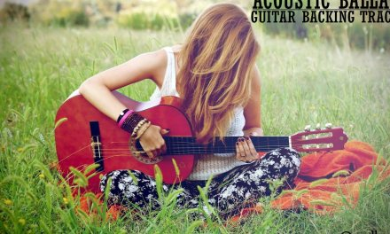 Acoustic Ballad in E – Guitar Backing Track
