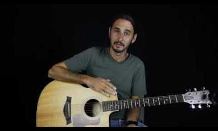 How Play Blackbird by the Beatles on guitar