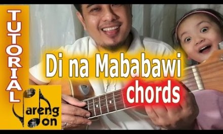 Di Na Mababawi OPM chords guitar tutorial (Sponge Cola)