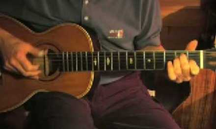 Slow Blues in E – Fingerpicking Guitar Lesson – Bad Blues Part 1 – TABLATURE available