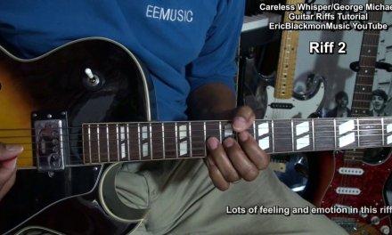 Careless Whisper George Michael Guitar Riffs Lesson FunkGuitarGuru Funk