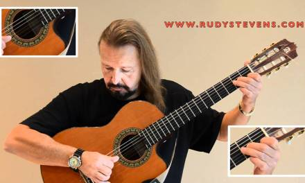 Rudy STEVENS – FIRST CLASSICAL SONG – GUITAR LESSONS