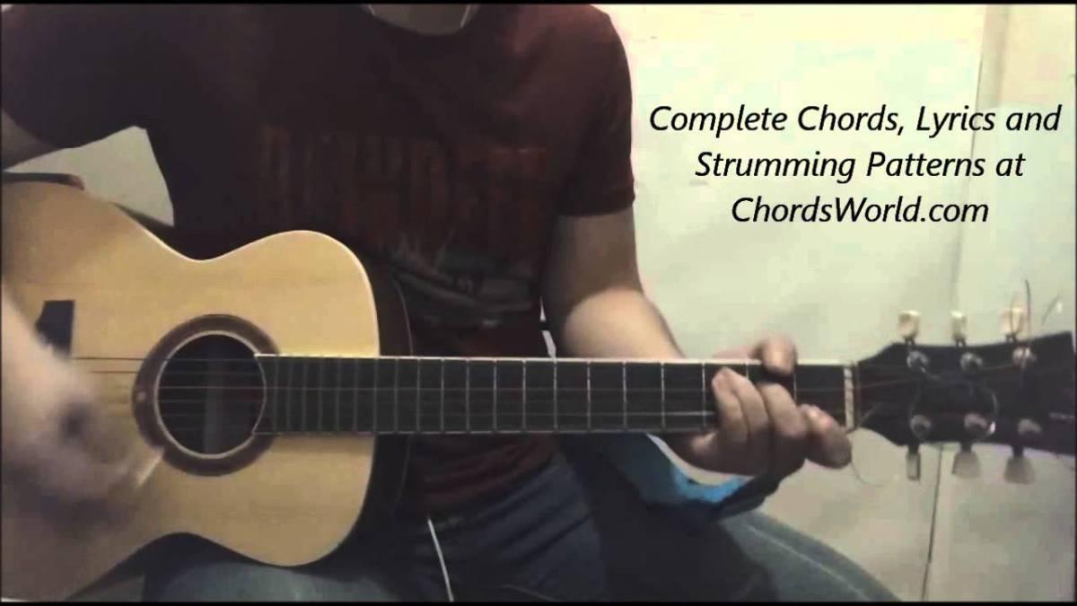 Justin Bieber Purpose Chords Guitar Lesson The Glog
