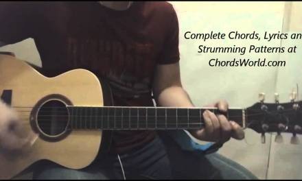 Justin Bieber Purpose Chords (Guitar Lesson)