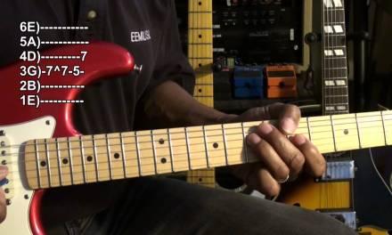Quik Licks #1 Beginner Guitar Solo Lesson EricBlackmonMusicHD Rock Blues