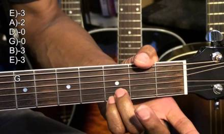 Guitar Chord TABS Tutorial BUFFALO SPRINGFIELD Style Major Chords Lesson EricBlackmonMusicHD
