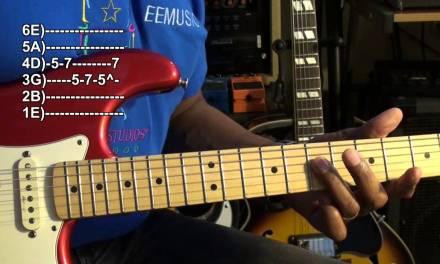 Quik Licks #3 Beginner Solo Lesson EricBlackmonMusicHD Rock Blues