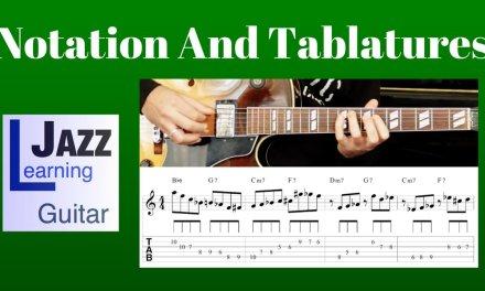 Jazz Guitar Lesson #13 – Progression #2 (Rhythm Changes in Bb) – Improvisation #3