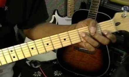 Jimi Hendrix  LITTLE WING Style Chord Shapes For Electric Guitar EricBlackmonGuitar