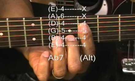 Marvin Gaye Style Guitar Chord TABS Tutorial #113 How To Play Motown R&B Chords Lesson