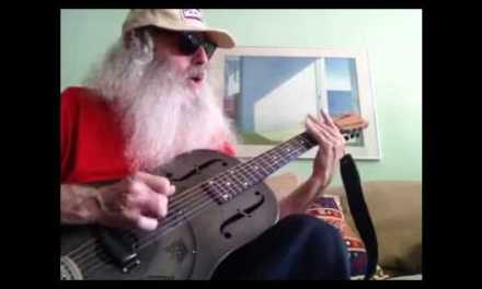 Slide Guitar Blues Lesson – Rollin and Tumbling. Open D.
