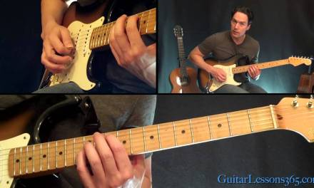 Everlong Guitar Lesson – Foo Fighters