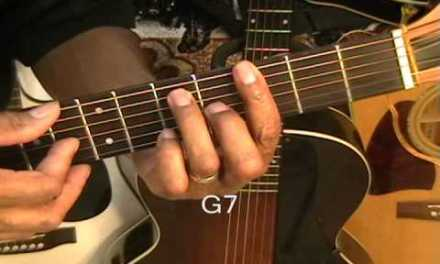 Bill Whithers AIN'T NO SUNSHINE How To Play On Guitar Lesson Tutorial