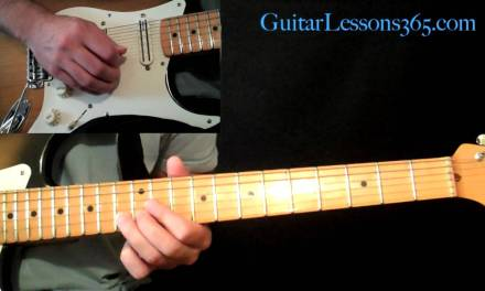 Proper Muting Technique While Soloing – Guitar Lesson – Rock – Metal – Jazz – Blues