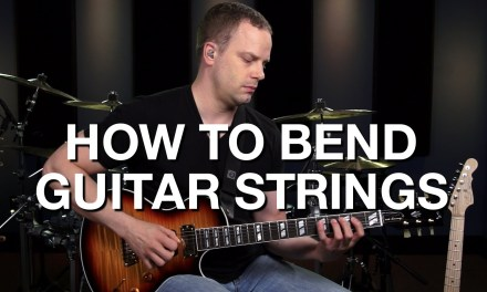 How To Bend The Guitar Strings – Lead Guitar Lesson #6