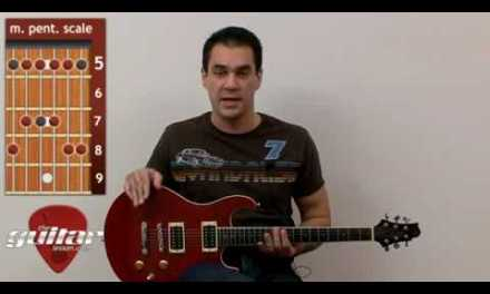 Beginner Guitar Lesson #8 – Lead Guitar: Hammer-on, Pull-off and the Pentatonic Scale