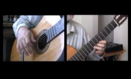 How to play Mi Favorita – Learn to Play Classical Guitar via Webcam Lessons