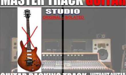 MICHAEL JACKSON Black or white (lead guitar backing track)