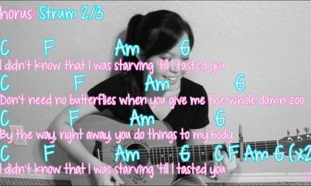 """Starving"" – Hailee Steinfeld EASY Guitar Tutorial/Chords"