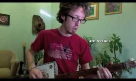 Cigar Box Guitar Lesson 2: Major and Minor Scales